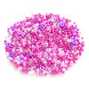 1250+ St. Rocailles Mix Crystal Lila Pink - 604