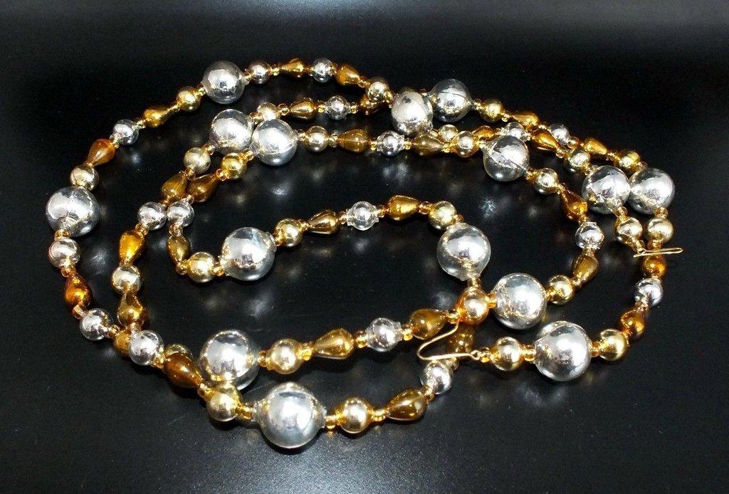 Christbaumschmuck Jaul Biz Glass Beads Rhinestones Antiques